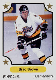 Brad Brown Pre-Rookie Card